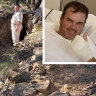 'The pain was unbelievable': Trail bike rider who fell 10m down a mine shaft to sue