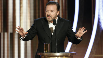 How Ricky Gervais' Golden Globes monologue divided the world
