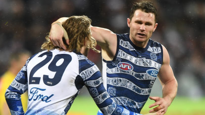 Geelong answer questions no one was asking in win over Blues
