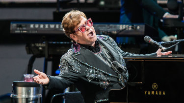 Energy and emotion as Elton John makes his long final lap