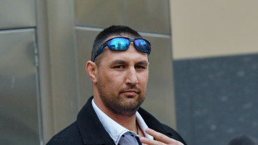 Kory Oxley, who worked for Lendlease,  faced court on Wednesday over 11 criminal charges.