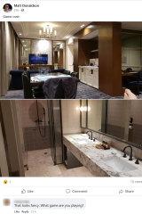 Photos taken inside the Primus Hotel.