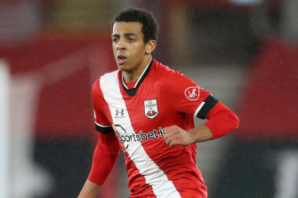 Caleb Watts made his EPL debut for Southampton on Wednesday morning against Arsenal.