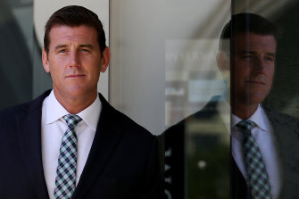 Suing for defamation: Ben Roberts-Smith pictured in 2015.