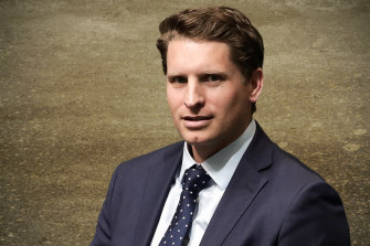 Former SASR captain, MP Andrew Hastie.