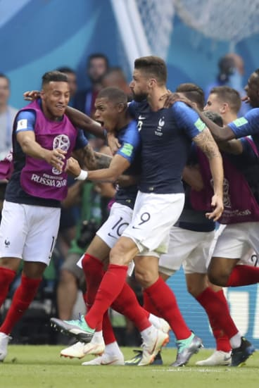 Mbappe, not Messi, stars as France beats Argentina