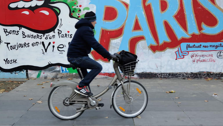Paris has invested heavily in encouraging cycle commuting.
