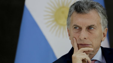 Argentina's President Mauricio Macri announced emergency economic measures over the weekend.