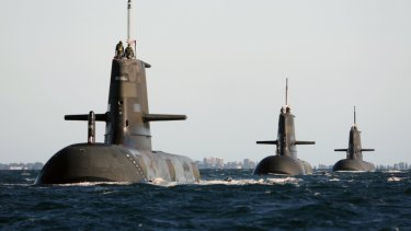 The project to replace Australia's ageing submarines has contributed to the uptick of contractors working on Defence projects.