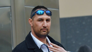 Kory Oxley, who worked for Lendlease,  is facing 11 criminal charges.