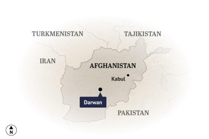 The village of Darwan in Afghanistan.