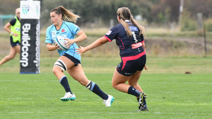 Waratahs book place in Super W final after crushing Rebels 66-12