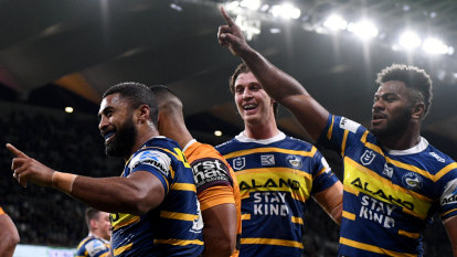 Eels respond to Arthur's spray with dominant win against Broncos