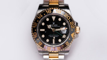 Rolex GMT Master II, approx $21,000.
