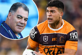 Rugby league Immortal and Titans boss Mal Meninga sees a bit of himself in the Gold Coast-bound David Fifita.