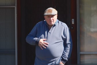 George Coorey, chairman of the Canterbury League Club, is alleged to have sent lewd text messages to female club members.