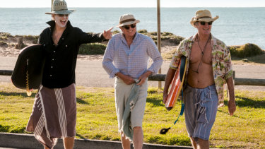 Richard E. Grant, Sam Neill and Bryan Brown in Palm Beach.