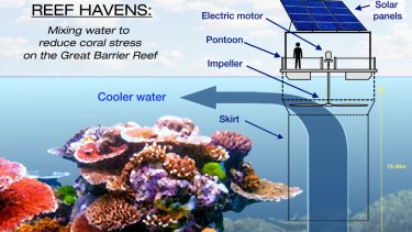 Study into 'giant fans' to cool Great Barrier Reef already ...