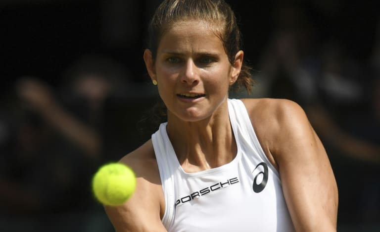 Julia Goerges was no match for an on-fire Serena Williams.