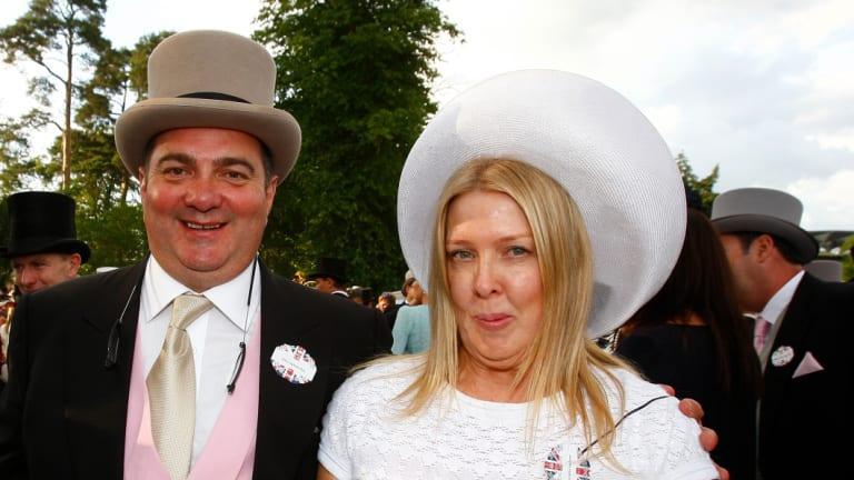 Proud slot-holders: John and Fran Ingham.