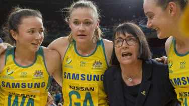 High ideals: Coach Lisa Alexander says the Diamonds must raise their standards even higher in the Constellation Cup against the old enemy.
