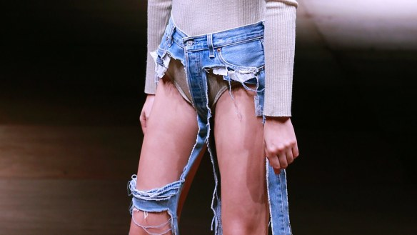 Thong jeans now exist thanks (?) to a Japanese designer