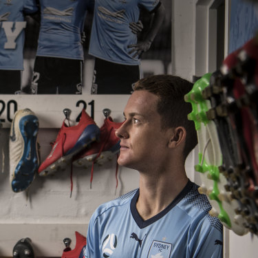 Brandon O'Neill is on the cusp of an A-League title, having been confined to a wheelchair as a kid.