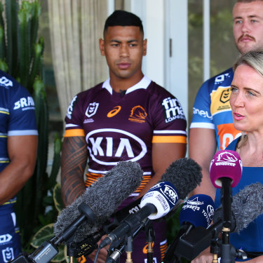 NRL commissioner Kate Jones has been tipped for an Olympic role.