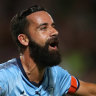 Alex Brosque to delay retirement decision until the end of the season