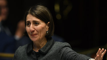 Premier Gladys Berejiklian says vocational training and university education need to be treated as equals.