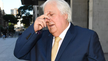 Clive Palmer donated almost $90 million to his own political party.