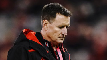 Bombers coach John Worsfold said his side deserved criticism for their performance but that it wasn't who they were as a team.