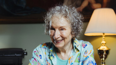 Author Margaret Atwood.