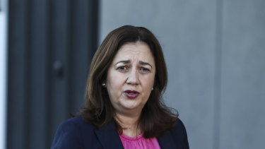 Premier Annastacia Palaszczuk arriving to a Council of Australian Governments meeting in Sydney last week.