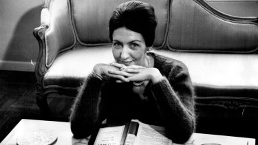 Shirley Hazzard photographed in New York in August 1963, shortly before her first book was published.