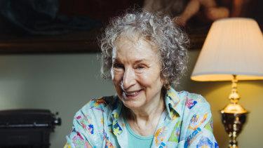 Author Margaret Atwood.