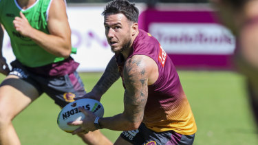 Darius Boyd has come under fire for not running the ball, but coach Anthony Seibold says the scrutiny is unfair on the veteran.