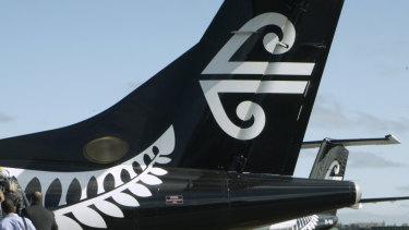 Air New Zealand said forward bookings had dropped off.