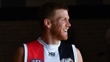 Hannebery unlikely to play AFL in first month of season