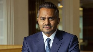 Came for the MBA... and the cricket:  Tarun Gupta at Stockland's head office on 21 June, 2021.