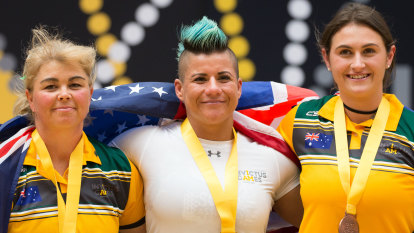 Invictus Games: Australian women powerlift to silver and bronze