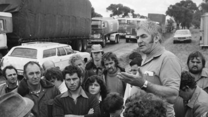 From the Archives: Nationwide truck blockades cripple Australia's roads