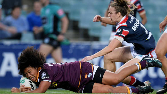 Broncos sound warning with NRLW win