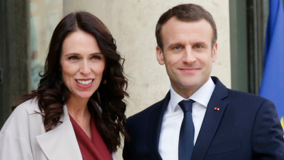 Jacinda Ardern's Paris pitch a sign of tech giants' power