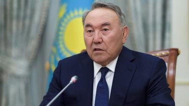 Still influential: Kazakh President Nursultan Nazarbayev.