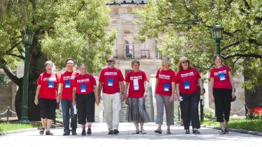 The Brisbane Greeters program, in which volunteers provide tours of the city, is set to be scrapped.