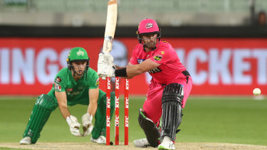 Dan Christian steering the Sixers home at the MCG.