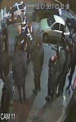 A still from Inflation nightclub CCTV footage.