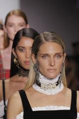 Models wear Australian brand Jagger & Stone in the 2018 Fashion Palette show.