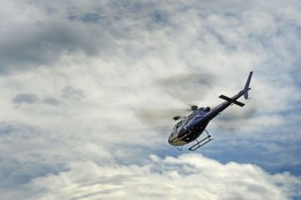Police finally used PolAir to track the couple to an address in Parramatta.